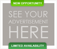 New Opportunity - See Your Advertisement Here - Limited Availability